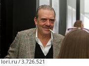 Купить «Король папарацци Рино Барилари», фото № 3726521, снято 10 сентября 2011 г. (c) Андрей Жухевич / Фотобанк Лори