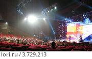 Купить «Большая цифра 2011(Таймлапс)», видеоролик № 3729213, снято 16 марта 2011 г. (c) Losevsky Pavel / Фотобанк Лори