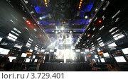 Купить «Ночной клуб(Таймлапс)», видеоролик № 3729401, снято 13 марта 2011 г. (c) Losevsky Pavel / Фотобанк Лори