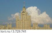 Высотное здание на Котельнической набережной (2011 год). Редакционное видео, видеограф Losevsky Pavel / Фотобанк Лори