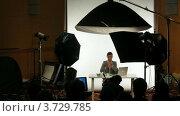 Купить «Международная конференция STOCKinRUSSIA10 (Таймлапс)», видеоролик № 3729785, снято 12 декабря 2010 г. (c) Losevsky Pavel / Фотобанк Лори