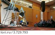 Купить «Международная конференция STOCKinRUSSIA10 (Таймлапс)», видеоролик № 3729793, снято 12 декабря 2010 г. (c) Losevsky Pavel / Фотобанк Лори