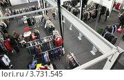 Купить «Выставочный зал на CPM Collection Premiere в Экспо-центре», видеоролик № 3731545, снято 23 декабря 2010 г. (c) Losevsky Pavel / Фотобанк Лори