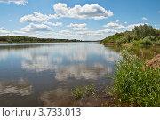 Река ока (2012 год). Стоковое фото, фотограф Олег Скударнов / Фотобанк Лори