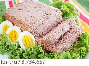 Купить «Паштет с яйцами», фото № 3734657, снято 26 июля 2012 г. (c) Юлия Маливанчук / Фотобанк Лори