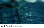 Купить «Перила в бассейне», видеоролик № 3737161, снято 3 июня 2011 г. (c) Losevsky Pavel / Фотобанк Лори