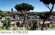 Купить «Имперские руины в Италии», видеоролик № 3739233, снято 9 июля 2011 г. (c) Losevsky Pavel / Фотобанк Лори