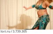 Купить «Девушка танцует танец живота крупным планом», видеоролик № 3739305, снято 5 июня 2011 г. (c) Losevsky Pavel / Фотобанк Лори