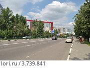Купить «Можайское шоссе. Виды города Одинцово. Московская область», эксклюзивное фото № 3739841, снято 4 июля 2012 г. (c) lana1501 / Фотобанк Лори