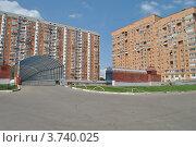 Купить «Подземная парковка в Одинцово. Московская область», эксклюзивное фото № 3740025, снято 4 июля 2012 г. (c) lana1501 / Фотобанк Лори
