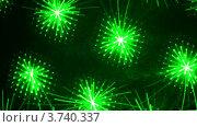 Купить «Хаотичные зеленые лазерные линии», видеоролик № 3740337, снято 29 июля 2011 г. (c) Losevsky Pavel / Фотобанк Лори
