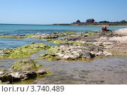 Камни на морском побережье (2012 год). Стоковое фото, фотограф Мария Деркунская / Фотобанк Лори