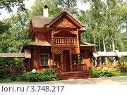Купить «Резиденция белорусского Деда Мороза в Беловежской пуще», эксклюзивное фото № 3748217, снято 4 июля 2012 г. (c) Rekacy / Фотобанк Лори