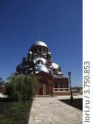 Свияжский православный храм. Стоковое фото, фотограф Павел Каменских / Фотобанк Лори