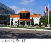 Купить «Современный музей каллиграфии. Парк «Сокольники». Москва», эксклюзивное фото № 3754281, снято 5 августа 2012 г. (c) lana1501 / Фотобанк Лори