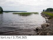 Озеро Янисъярви. Стоковое фото, фотограф Пётр Ваньков / Фотобанк Лори