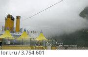 Купить «Корабль идет в густом тумане, тайм лапс», видеоролик № 3754601, снято 13 августа 2011 г. (c) Losevsky Pavel / Фотобанк Лори