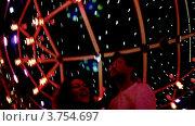Купить «Счастливая пара танцует в ночном клубе», видеоролик № 3754697, снято 5 сентября 2011 г. (c) Losevsky Pavel / Фотобанк Лори