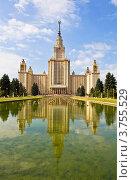 Купить «Москва, Московский государственный университет», фото № 3755529, снято 9 августа 2012 г. (c) ИВА Афонская / Фотобанк Лори