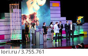 Купить «Церемония награждения Рунет», видеоролик № 3755761, снято 1 ноября 2011 г. (c) Losevsky Pavel / Фотобанк Лори