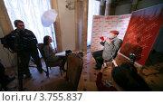 Купить «Интервью с популярным актером Александром Филиппенко о фильме Мастер и Маргарита», видеоролик № 3755837, снято 28 ноября 2011 г. (c) Losevsky Pavel / Фотобанк Лори