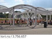 Купить «Парк Горького. Москва», эксклюзивное фото № 3756657, снято 12 августа 2012 г. (c) lana1501 / Фотобанк Лори