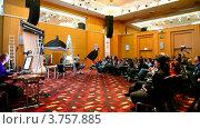 Купить «Конференция STOCKinRUSSIA 2010», видеоролик № 3757885, снято 10 ноября 2011 г. (c) Losevsky Pavel / Фотобанк Лори