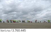 Купить «Аэропорт Шереметьево(таймлапс)», видеоролик № 3760445, снято 4 октября 2011 г. (c) Losevsky Pavel / Фотобанк Лори
