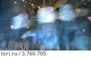 Купить «Люди внутри музей Васа в Стокгольме, таймлапс», видеоролик № 3760705, снято 20 октября 2011 г. (c) Losevsky Pavel / Фотобанк Лори