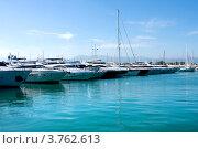 Купить «Яхты в порту Антиб, лазурное побережье Франции», фото № 3762613, снято 12 июня 2010 г. (c) ElenArt / Фотобанк Лори