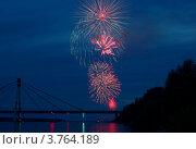 Салют. Стоковое фото, фотограф Сергей Тарасенко / Фотобанк Лори
