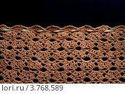 Купить «Вязание крючком .Кайма из ракушек.», фото № 3768589, снято 21 августа 2012 г. (c) Стефания Домогацкая / Фотобанк Лори
