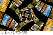 Купить «Спираль бесконечности с осенними фотографиями. Коллаж», фото № 3770493, снято 20 января 2018 г. (c) Liseykina / Фотобанк Лори