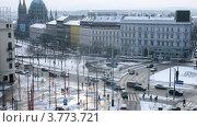 Купить «Городской пейзаж, Вена, таймлапс», видеоролик № 3773721, снято 3 марта 2012 г. (c) Losevsky Pavel / Фотобанк Лори