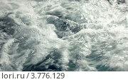 Купить «Вода бурлит и пенится крупным планом», видеоролик № 3776129, снято 6 февраля 2012 г. (c) Losevsky Pavel / Фотобанк Лори