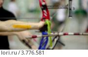 Купить «Несколько лучников стреляют», видеоролик № 3776581, снято 21 января 2012 г. (c) Losevsky Pavel / Фотобанк Лори