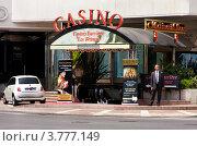 Купить «Казино при гостинице Стефания Палас на набережной Круазет, Канны», фото № 3777149, снято 13 июня 2010 г. (c) ElenArt / Фотобанк Лори