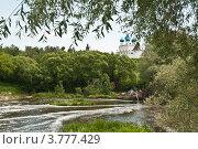 Серпуховской Высоцкий мужской монастырь. Стоковое фото, фотограф Олег Скударнов / Фотобанк Лори