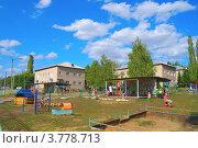 Купить «Детский сад в городе Ишимбай», фото № 3778713, снято 24 января 2012 г. (c) Сергей Девяткин / Фотобанк Лори