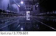 Купить «Люди ходят по подиуму (таймлапс)», видеоролик № 3779601, снято 27 апреля 2012 г. (c) Losevsky Pavel / Фотобанк Лори