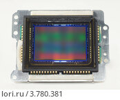 Купить «Матрица цифрового зеркального фотоаппарата», эксклюзивное фото № 3780381, снято 21 августа 2012 г. (c) Dmitry29 / Фотобанк Лори