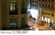Купить «Мужчина и женщина говорят на балконе около дороги )(таймлапс)», видеоролик № 3780881, снято 19 апреля 2012 г. (c) Losevsky Pavel / Фотобанк Лори