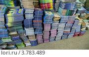 Купить «Стопки книг», видеоролик № 3783489, снято 8 апреля 2012 г. (c) Losevsky Pavel / Фотобанк Лори