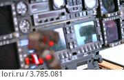 Купить «Панель управления вертолета», видеоролик № 3785081, снято 30 июля 2012 г. (c) Losevsky Pavel / Фотобанк Лори