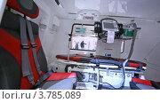 Купить «Вертолет скорой помощи на международной выставке», видеоролик № 3785089, снято 30 июля 2012 г. (c) Losevsky Pavel / Фотобанк Лори