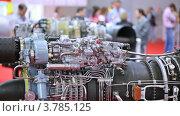 Купить «Двигатель вертолета», видеоролик № 3785125, снято 30 июля 2012 г. (c) Losevsky Pavel / Фотобанк Лори