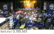 Купить «Люди на международном Тату конгрессе, таймлапс», видеоролик № 3785501, снято 7 июня 2012 г. (c) Losevsky Pavel / Фотобанк Лори