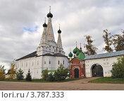 Купить «Женский Алексеевский монастырь в Угличе», фото № 3787333, снято 27 сентября 2011 г. (c) Виктор Сагайдашин / Фотобанк Лори