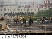 Строительство (2012 год). Редакционное фото, фотограф Виталий Першин / Фотобанк Лори