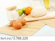 Купить «Продукты и ингредиенты для выпечки хлеба», фото № 3788229, снято 14 июня 2012 г. (c) Sergey Nivens / Фотобанк Лори